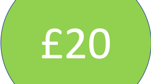 Contribute £20 to Wake up Wallasey