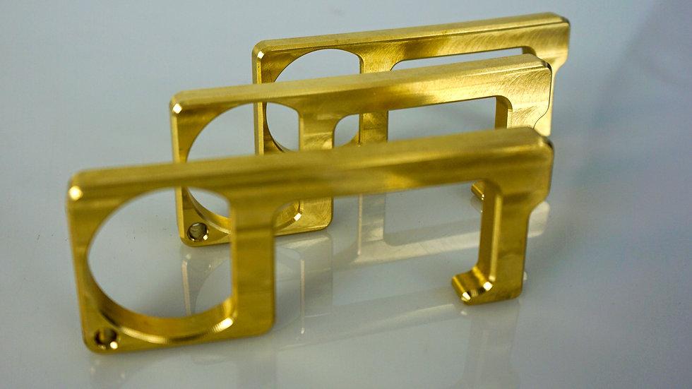 3-Pack Brass Essential Keychain Multi-Tool