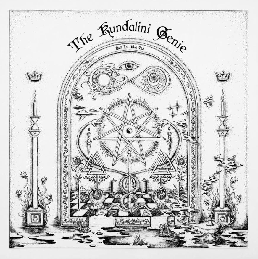 The Kundalini Genie | Half In, Half Out cover art