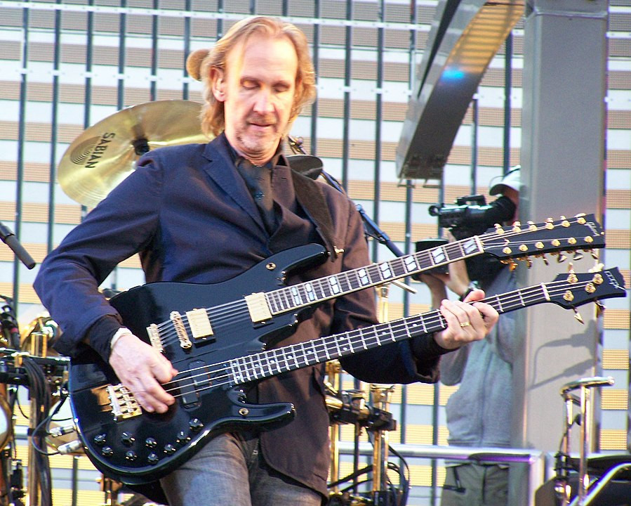 Mike Rutherford By Andrew St.Denis - Public Domain