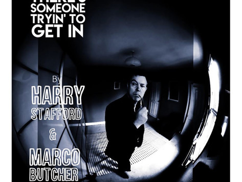 Lançamentos: Harry Stafford and Marco Butcher | There's Someone Tryin' To Get In