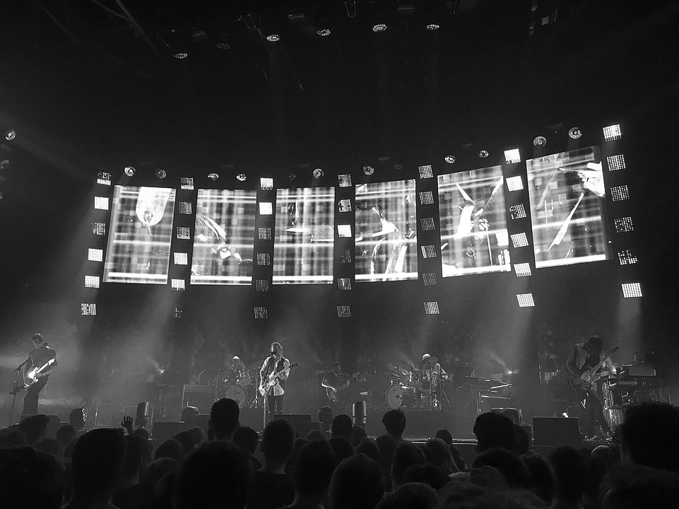 Radiohead performing on the 2016 Moon Shaped Pool tour By David Urrea - Own work, CC BY-SA 4.0