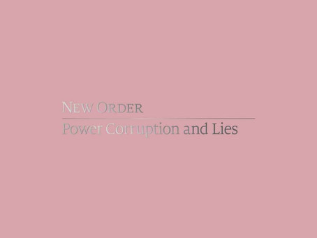 Definitive version of New Order's Power Corruption and Lies to be released.