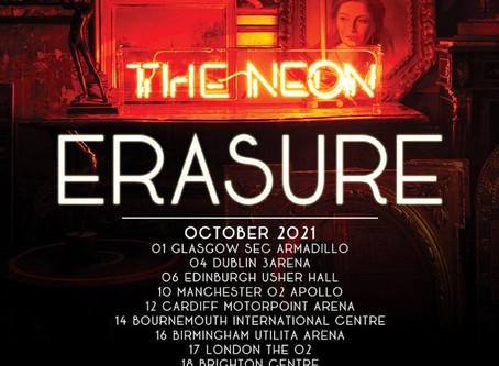 Erasure anuncia The Neon Tour 2021.
