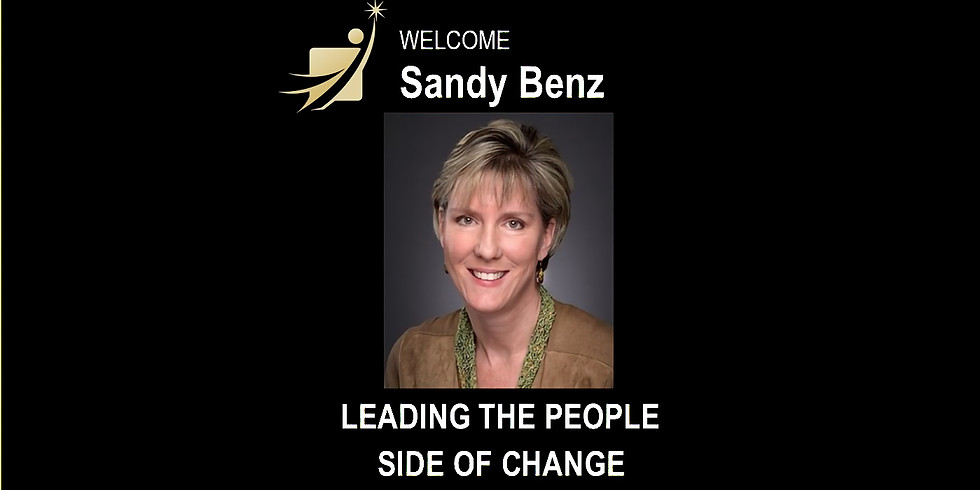 Leading The People Side of Change with Sandy Benz