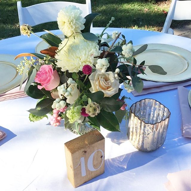 Centerpieces #Luella #Wedding