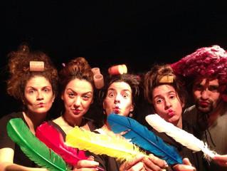 Η Θεατρική ομάδα κωφών Τρελά Χρώματα στο Bob Festival 2017 - 23/5/17