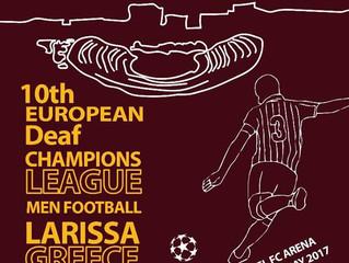 10th European Deaf Champions League Men Football - Λάρισα 30/04 έως 06/05/2017