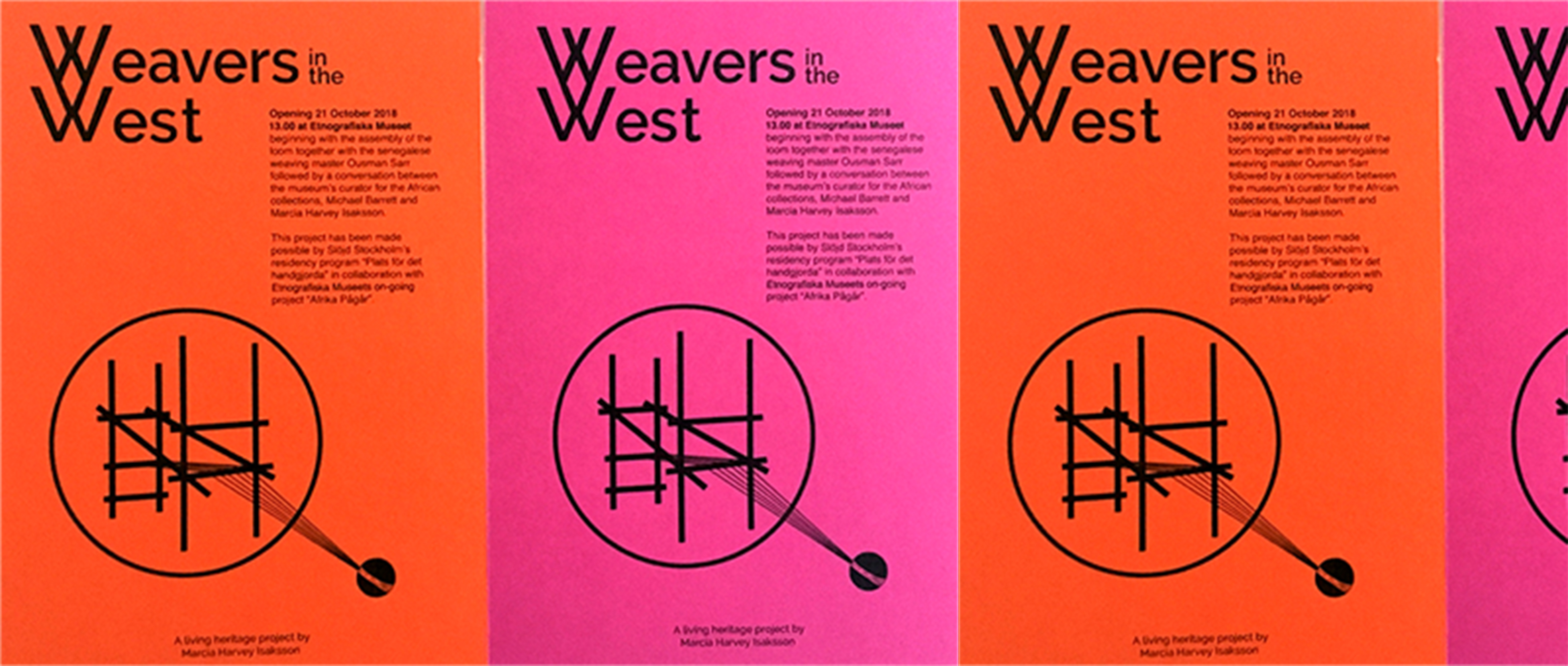 Weavers in the west