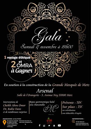 Gala 2018 de la Grande Mosquée de Metz