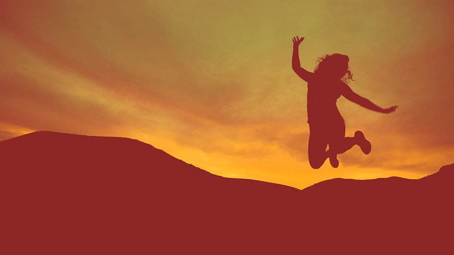 Jumping for joy - one-to-one support