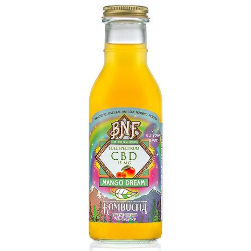 CBD Mango Dream Kombucha Case of 12