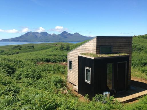 Visual Arts Scotland X Bothy Project residency