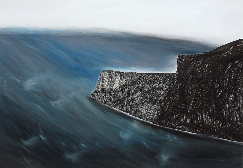 Benighted Sea (framed)