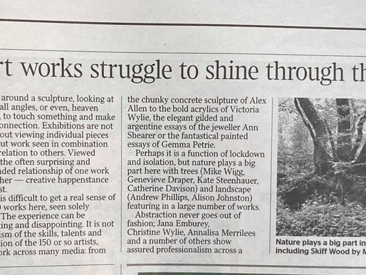 A mention in The Times - Visual Arts Scotland | FLOW