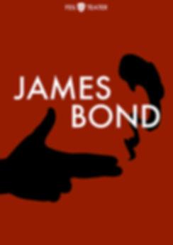 James Bond, plakat, Feil Teater, tegneserieteater