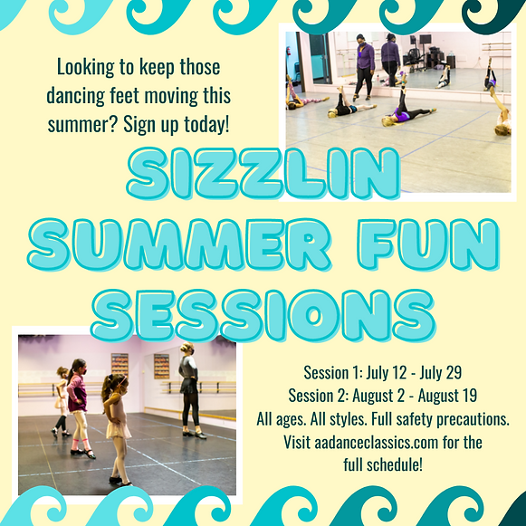 FB & IG - summer session adverts (6 vers
