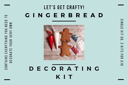DIY Gingerbread Decorating Kit ByPost