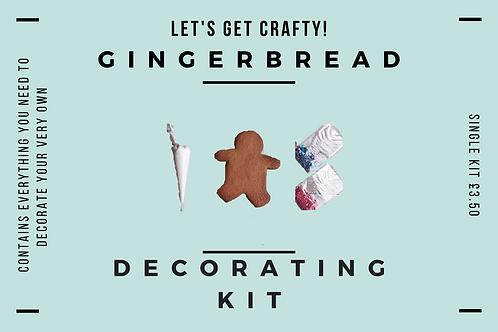 DIY Single Gingerbread Decorating Kit