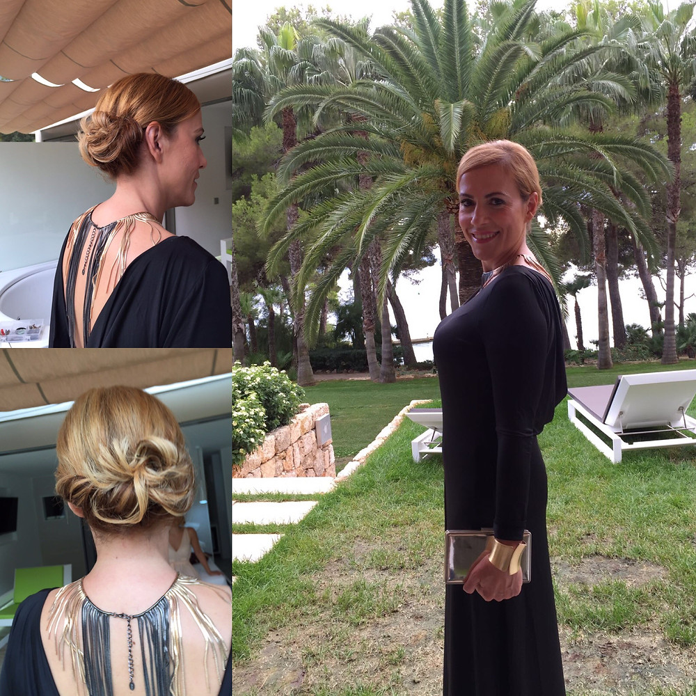 Sara Ramis tras las manos de J'stylist y Anamay