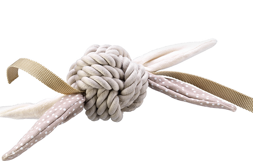 Brown Rope Ball With Tags