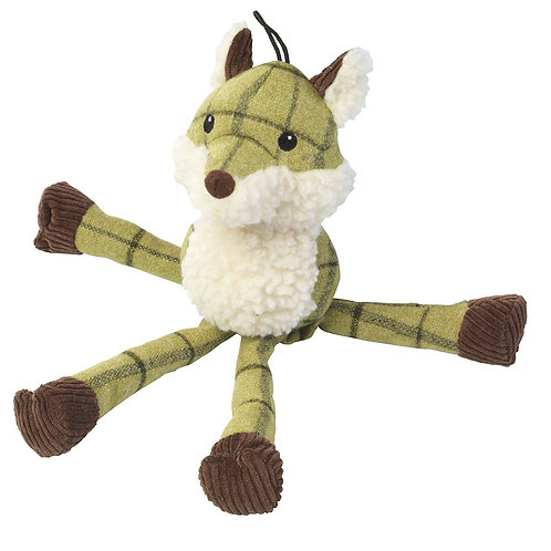 Tweed Plush Long Legs Fox