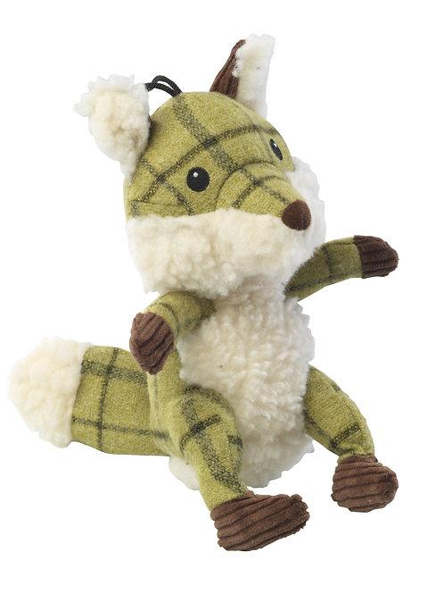 Tweed Plush Fox
