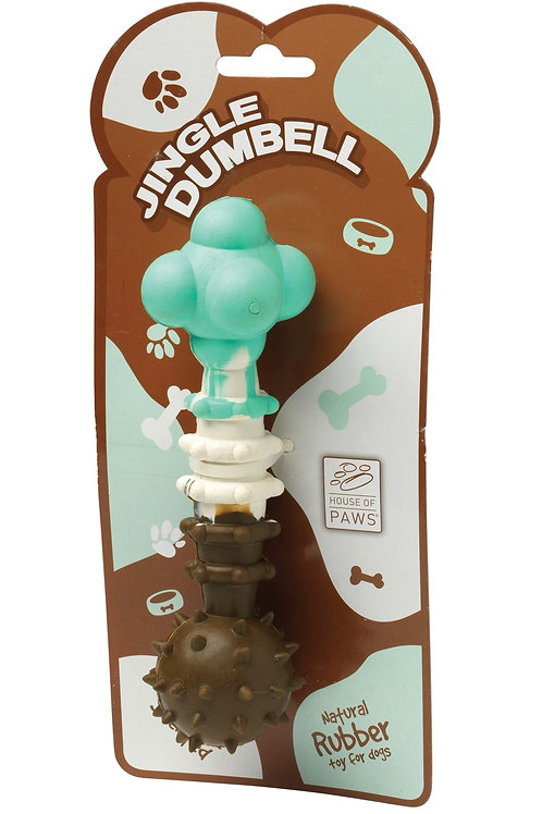 Chocolate Scented Jingle Dumbbell