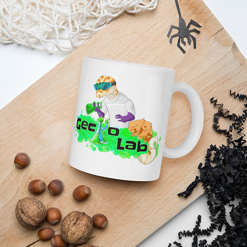 Gecko Labs logo coffee mug