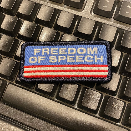 """Freedom of Speech"" Patch"
