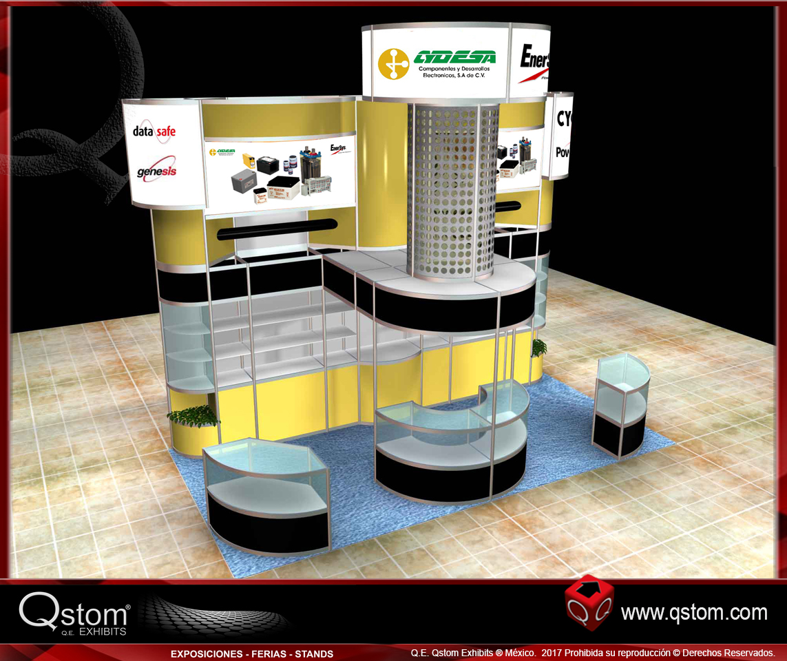 Stand 6x3 #009
