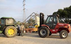 Kibbutz Ein Carmel, Migrant workers