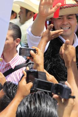 Pres Peña Nieto´s campaign, Proceso