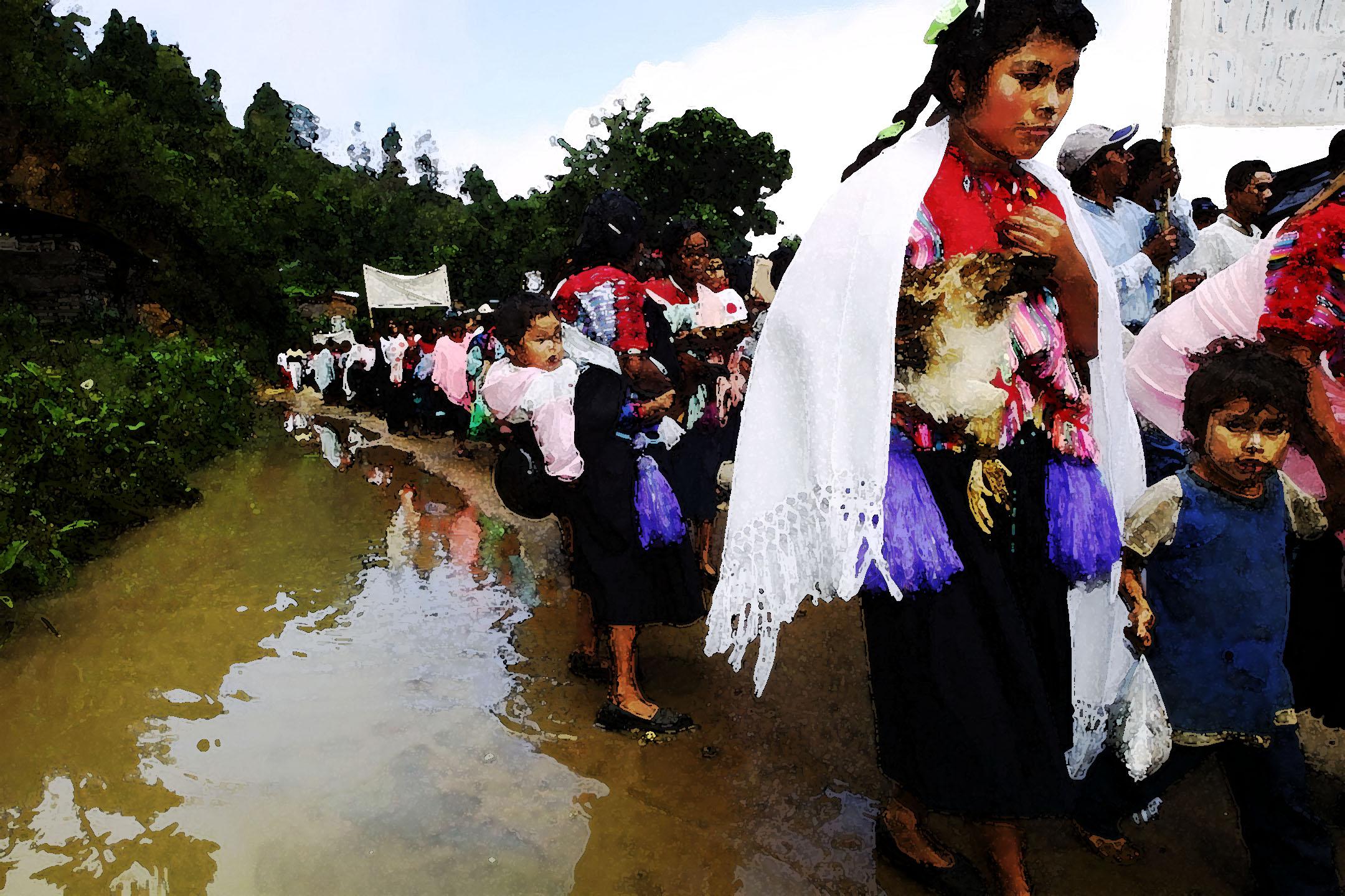 Zapatista refugees