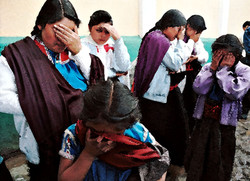 Expelled Protestants Pray, 1999