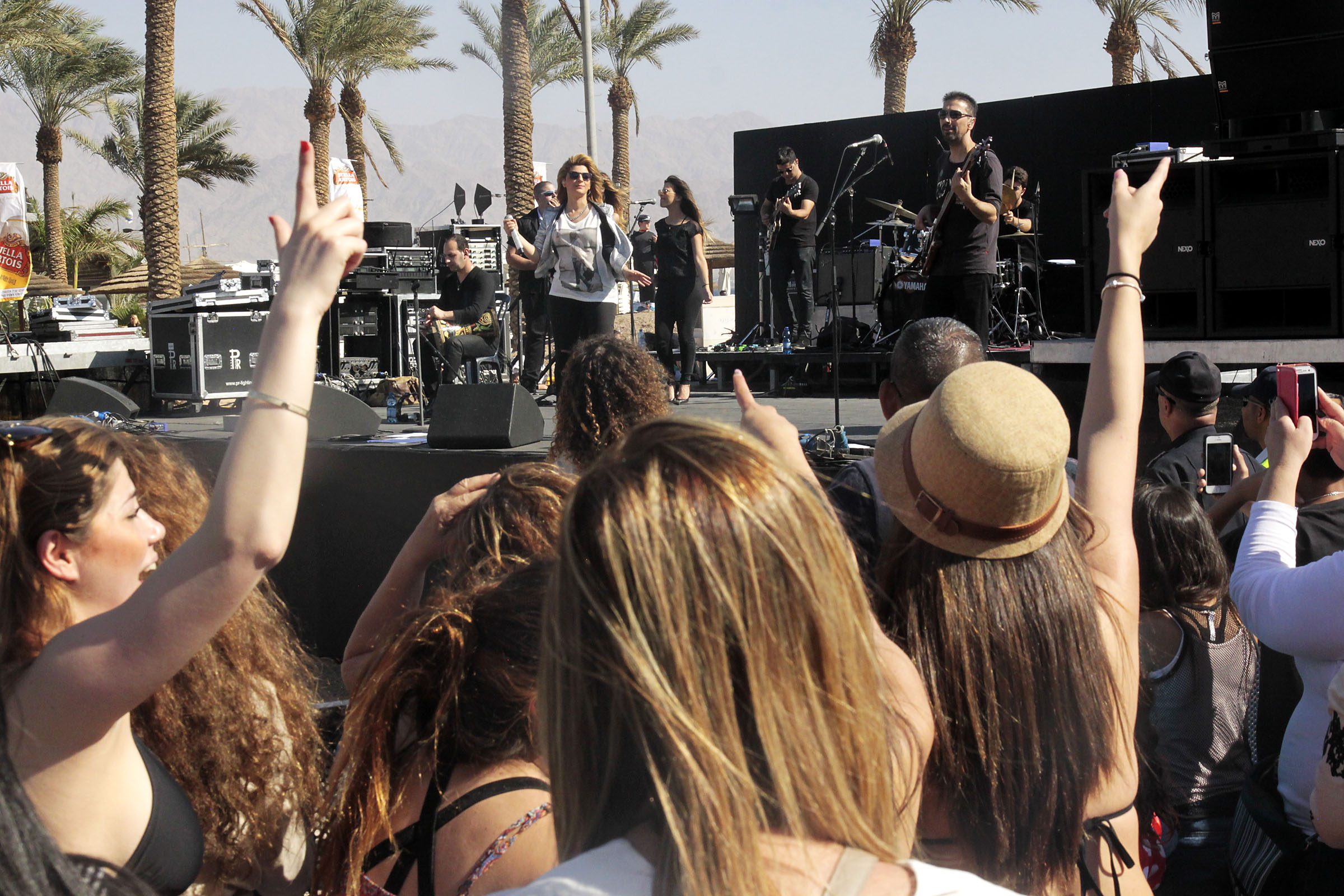 Sarit Hadad in Eilat