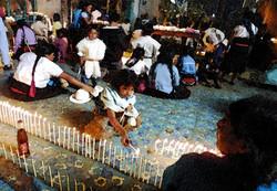 Rezos a San Juan, Chamula 2001