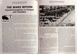 Escalation of Chiapas War, NACLA