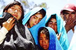 Tzotziles lloran ante asesinato en Candelaria 2002