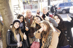 Tzfat, Arabs & Jews together