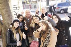 Tzfat, Arabs & Jews together