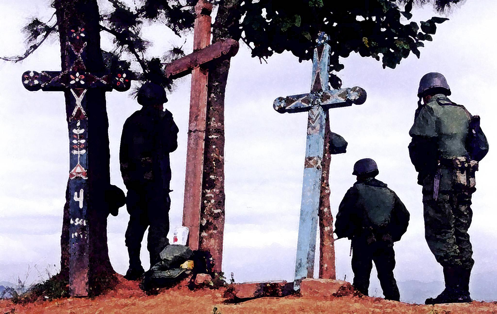 Calvario Xoyep, Chenalho, 1998