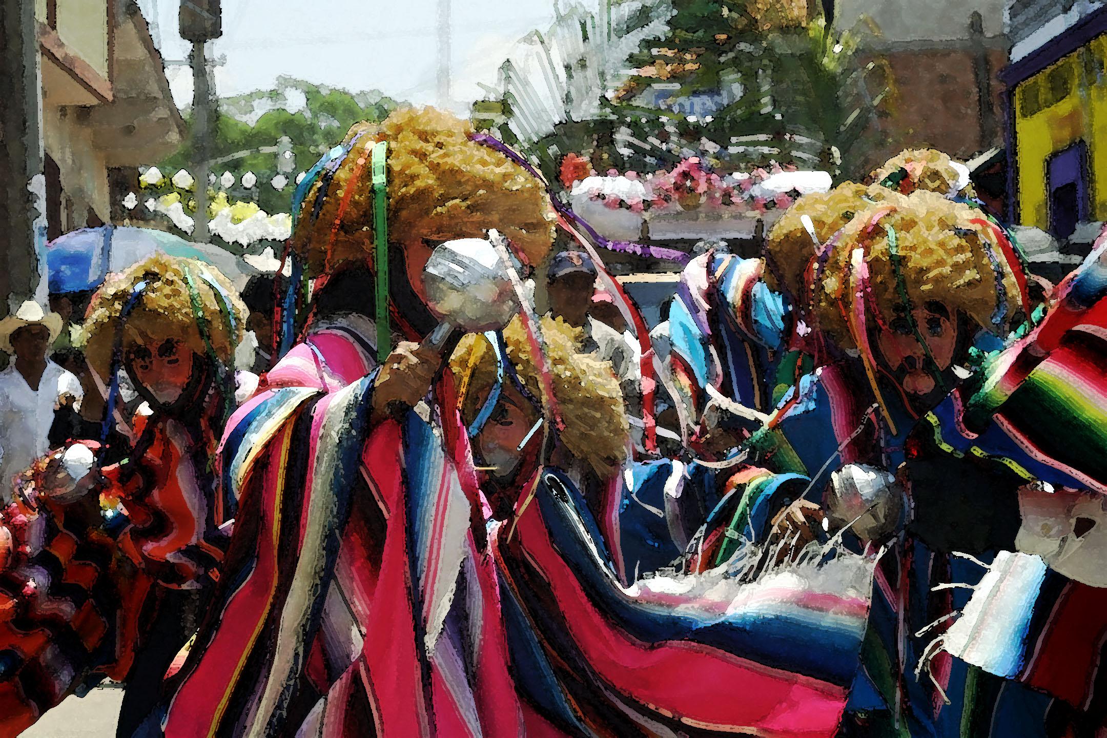 Parachicos, Chiapa de Corzo