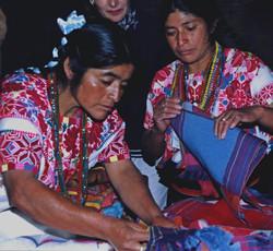 Zinacantec weavers, Winds of Change