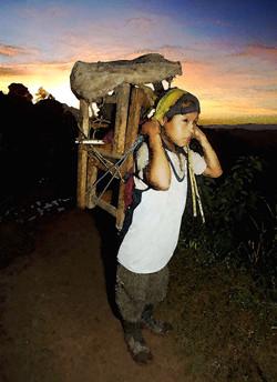 Desplazado en Xoyep, 2001