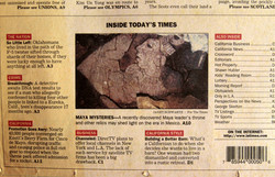 Clues to Maya Mysteries, LA Times