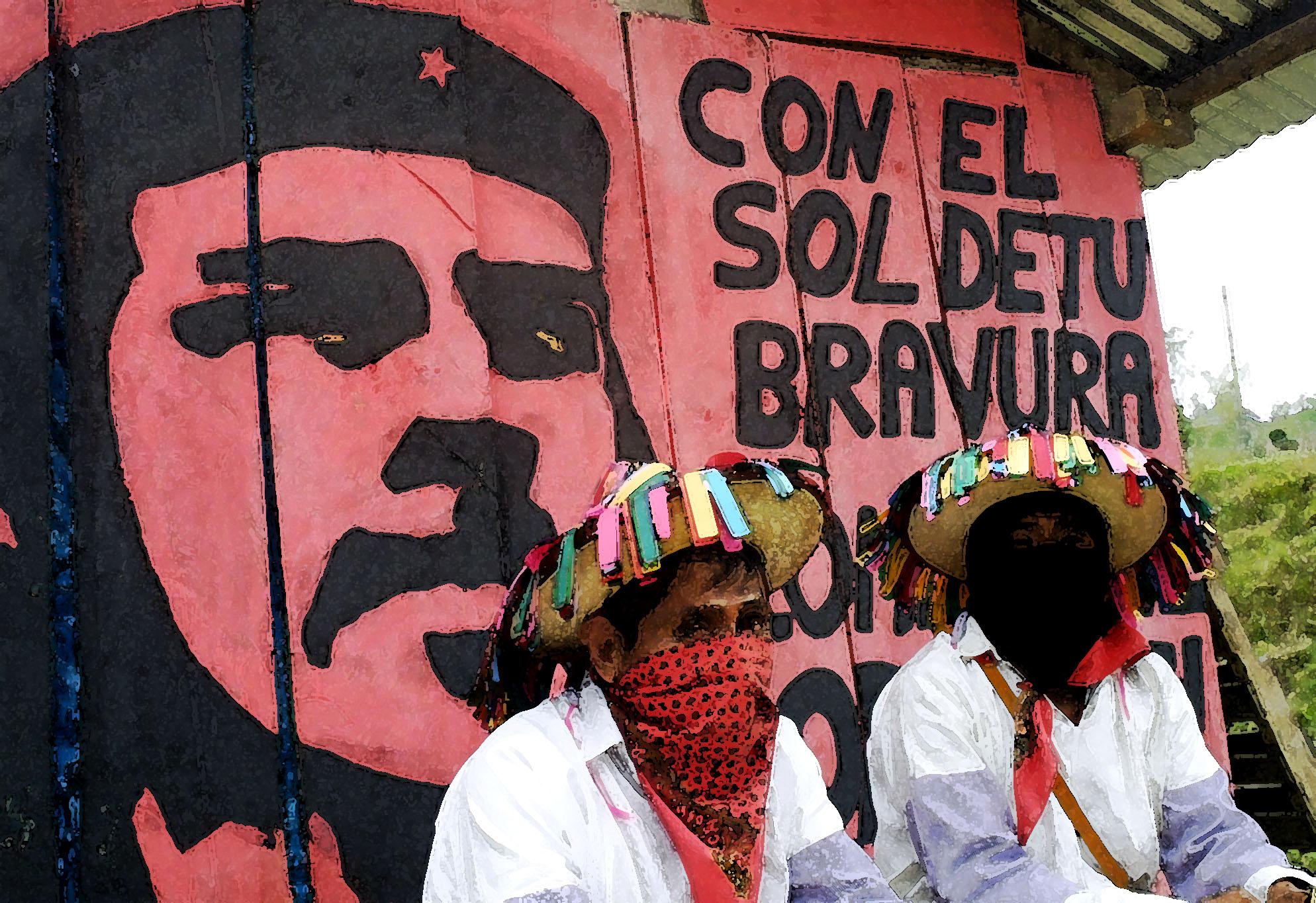 Recordando Che en Oventik 2001
