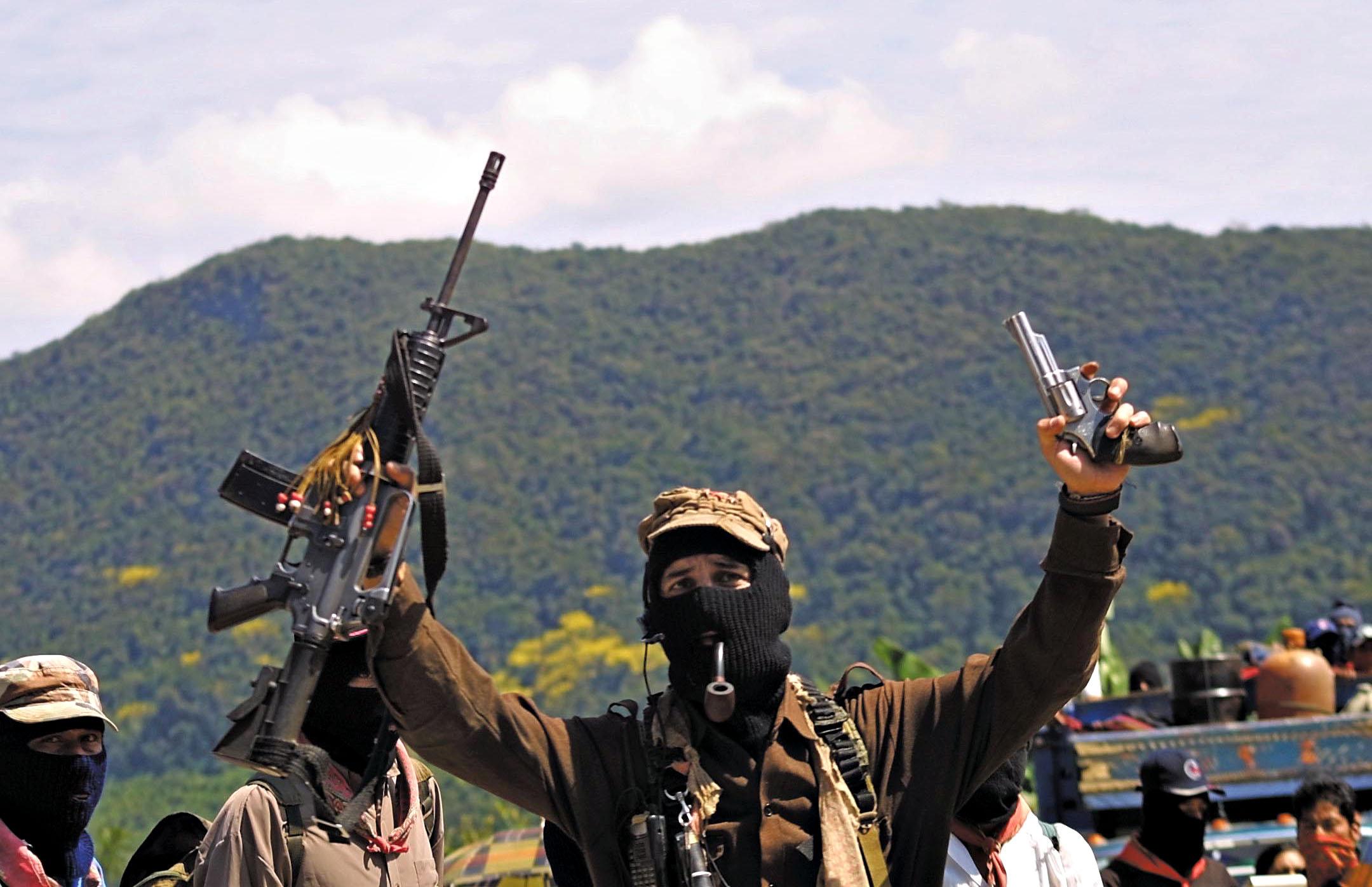 Subcommander Marcos, AFP 2001