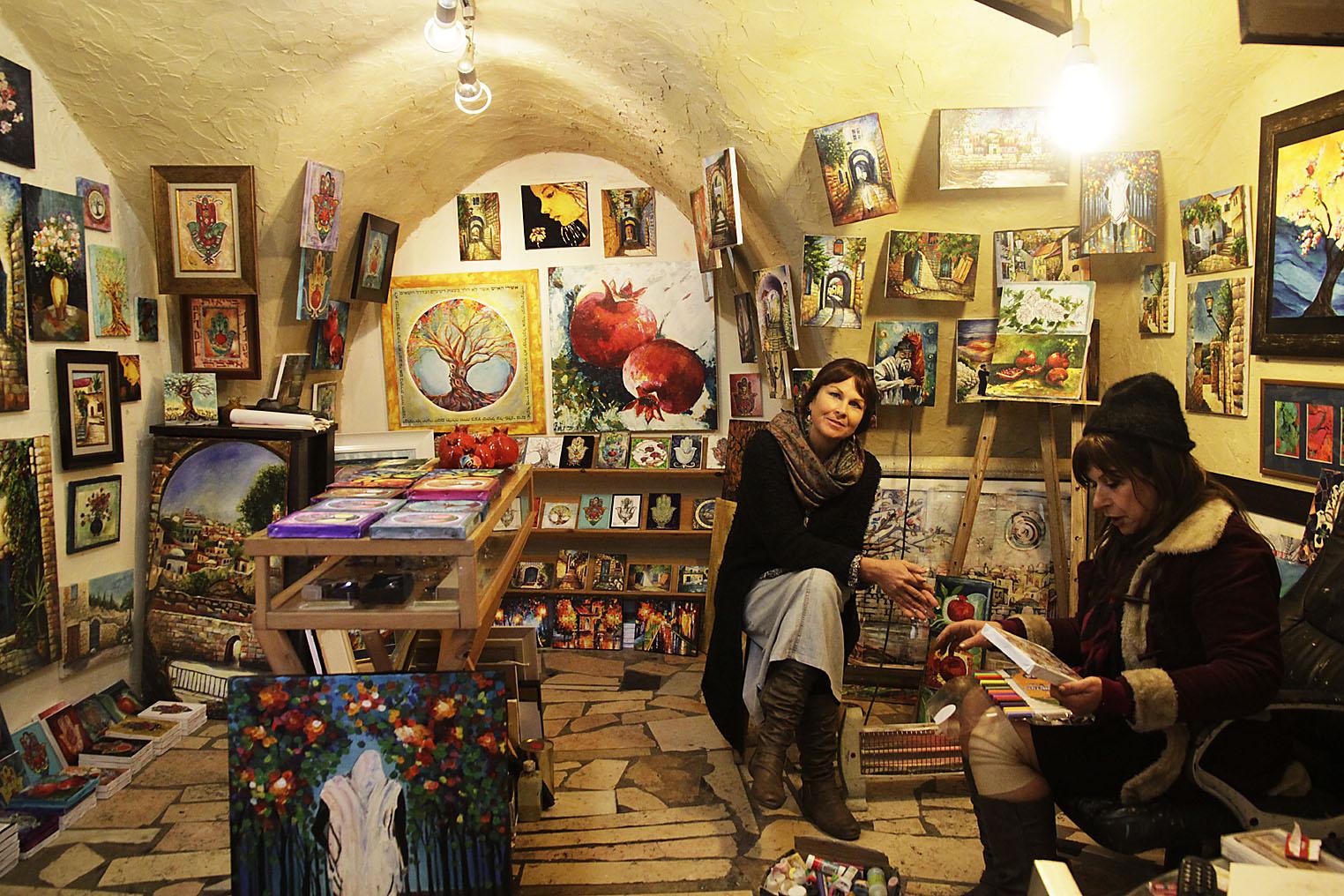 Tzfat, Idit Aharon, Artist