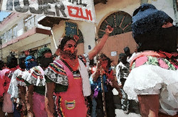 Marcha Mujeres Zapatistas, 2000